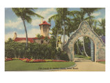 Davies Estate, Palm Beach, Florida Print