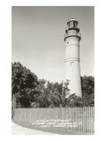 Lighthouse, Key West, Florida Print
