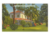 Edison Home, Ft. Myers, Florida Posters