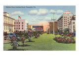 Palafox Street, Pensacola, Florida Posters