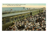 First Train to Key West, Florida Poster