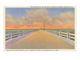 Bridge, Pensacola, Florida Print