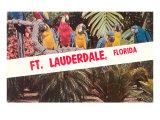 Ara, Ft. Lauderdale, Florida Poster