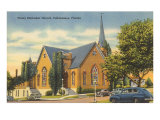 Methodist Church, Tallahassee, Florida Posters