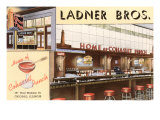 Ladner Brothers Bar, Chicago, Illinois Planscher