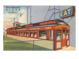 Burlington Diner, Chicago, Illinois Print