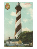 Anastasia Lighthouse, St. Augustine, Florida Print