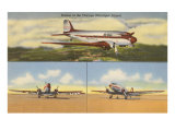 Planes at Chicago Municipal Airport, Chicago, Illinois Posters