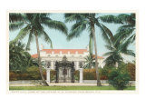 Flagler Home, Palm Beach, Florida Poster