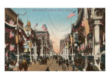 State Street Carnival, Chicago, Illinois Posters