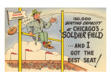 Soldier Field, Chicago, Illinois Plakater