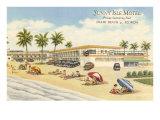 Motel Sunny Isle, Miami Beach, Floride Posters