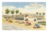 Sunny Isle Motel, Miami Beach, Florida Posters