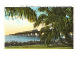 Trestle to Key West, Florida Posters