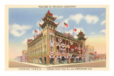 Chinese Temple, Chicago, Illinois Photo