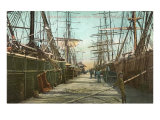 Tall Ships, Wharf, Pensacola, Florida Posters