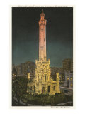 Water Tower, Chicago, Illinois Print