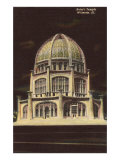 Baha'i Temple, Chicago, Illinois Print