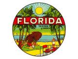 'フロリダ, アメリカのリヴィエラ'グラフィックス ポスター