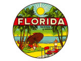 Florida, Riviera of America Posters