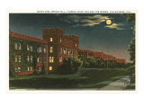 Moon over Florida State, Tallahassee, Florida Poster