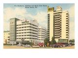 Shelborne, Nautilus, Shore Club Hotels, Miami Beach, Florida Poster