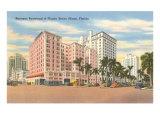 Biscayne Boulevard, Miami, Florida Print