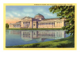 Museum of Science and Industries, Chicago, Illinois Poster
