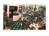 Edgewater Beach Hotel, Flower Shop, Chicago, Illinois Posters