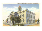 Post Office, Courthouse, Tallahassee, Florida Posters