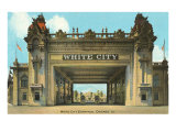 White City Entrance, Chicago, Illinois Poster