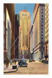 LaSalle Street, Chicago, Illinois Print