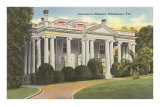 Governor's Mansion, Tallahassee, Florida Posters