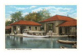 Boat House, Jackson Park, Chicago, Illinois Posters