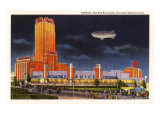 General Motors Building, Chicago World's Fair Print