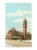 Dearborn Street Station, Chicago, Illinois Print