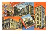 Libraries, Chicago, Illinois Print