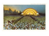 Band Shell, Grant Park, Chicago, Illinois Posters