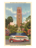 Bok Singing Tower, Lake Wales, Florida Poster