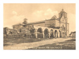 San Luis Rey Mission, California Poster