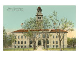 County Courthouse, Colorado Springs, Colorado Posters