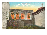 Bells of San Juan Capistrano Mission, California Posters