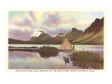 Bow Lake, Banff National Park Print