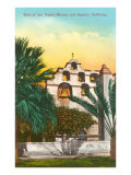 San Gabriel Mission, California Posters