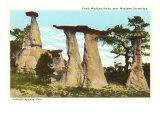 Dutch Wedding Rocks, Colorado Springs, Colorado Posters