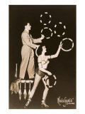 Two Circus Jugglers Print