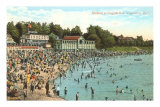 Beach at English Bay, Vancouver, British Columbia Posters
