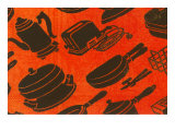 Small Appliances Motif Posters