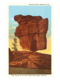 Balanced Rock, Pike's Peak, Colorado Print