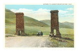 Gateway to Lookout Mountain Park, Colorado Posters
